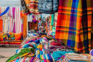 Otavalo, Markt, Ecuador